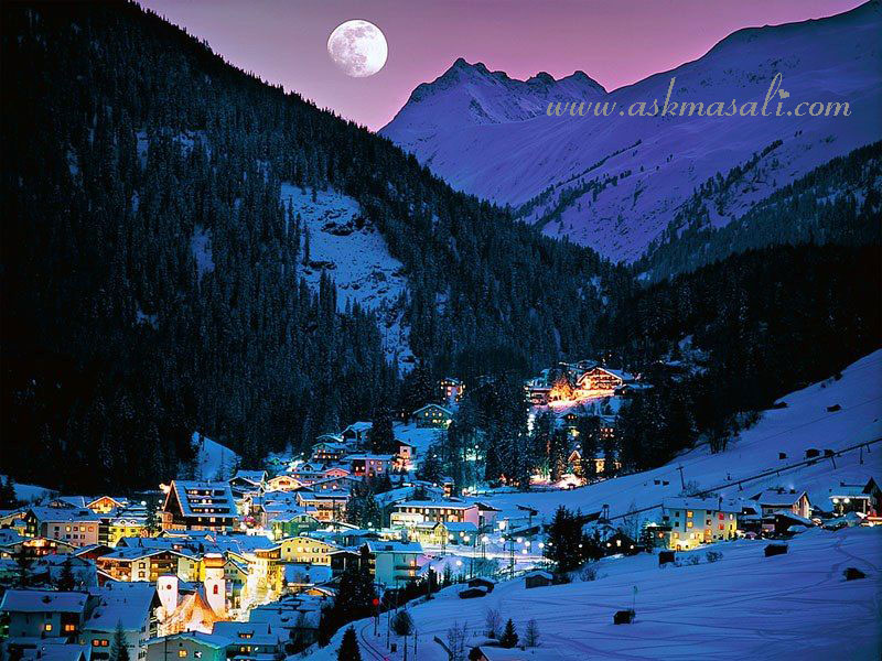 Manzara resimleri en g zel manzaralar do a resimleri for Foto per desktop inverno